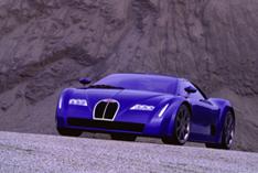 Bugatti Chiron 18,3 carro-conceito