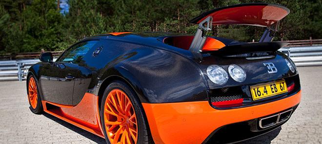 Bugatti Veyron Super Sport, Incrivelmente Rápido