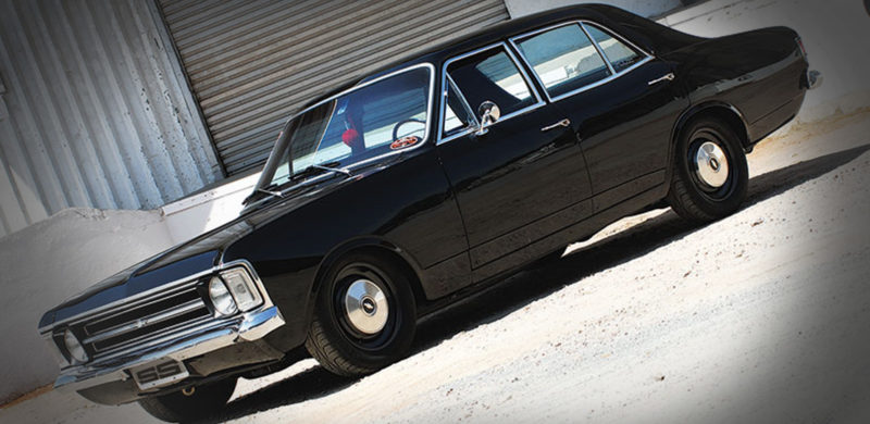 Opala 4.1, modificado 6c, preto