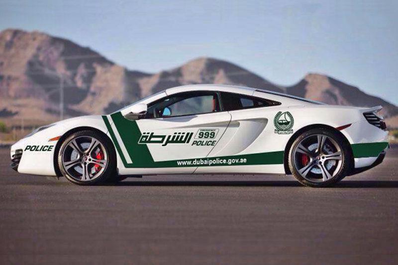 McLaren-MP4-12C- viatura policial de dubai