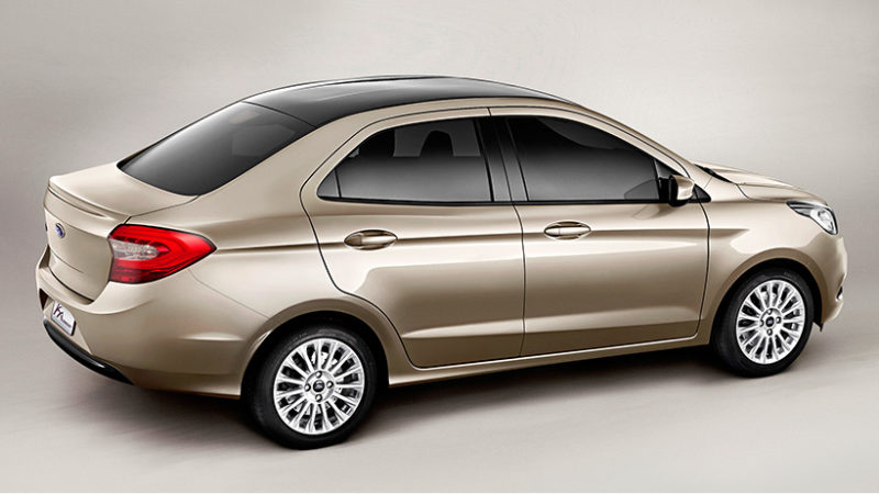 ford ka-sedan-2014-dourado