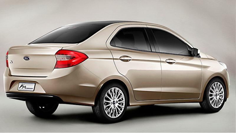 ford ka-sedan-2014-dourado-traseira