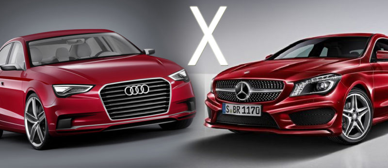 mercedes cla 200 x audi a3 sedan - comparativo