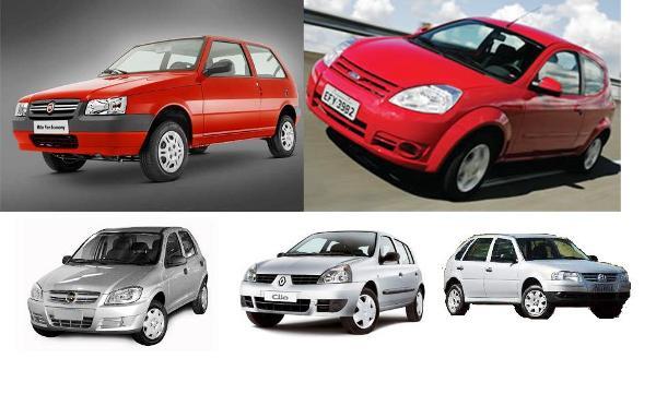 carros populares - automóveis