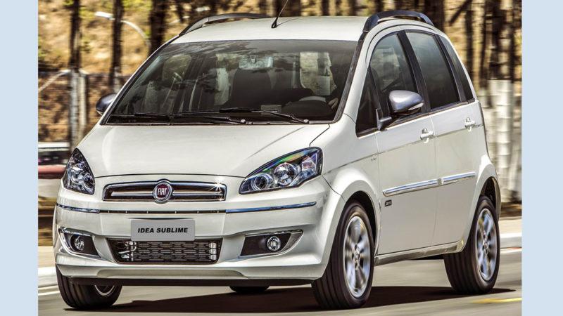 Fiat Idea Sublime – lançamento série especial