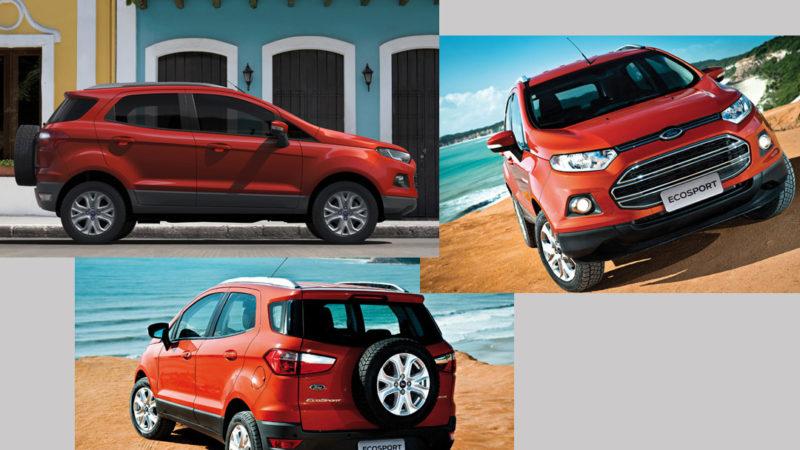 imagens ford ecosport-Ford já vende EcoSport nos principais países da Europa12