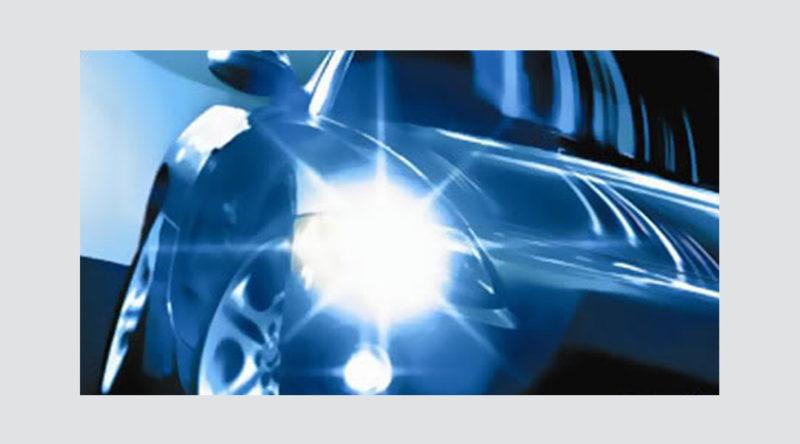 vídeo faróis de xenônio, exemplo no novo ford focus-3